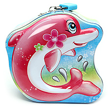 Coin Bank Pink - Fish Shape