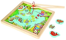Tidlo Wooden Magnetic Pond Fishing