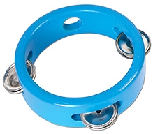 Tidlo Mini Wooden Tambourine - Blue