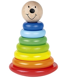 Tidlo Wooden Magnetic Woobly Stacker