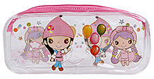 Pencil Pouch Kids Print Pink