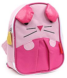 Cat Face Little Kid Backpack - Pink