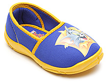 Tom And Jerry Printed Canvas Shoes - Royal Blue N Yellow