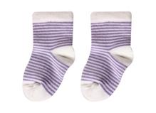 Cotton Socks - Purple Stripes