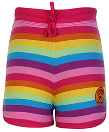 SAPS Multi Color Shorts With Fastening