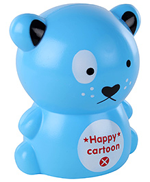 Fab N Funky Coin Bank Teddy Shape - Blue