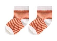 Cotton Socks - Orange Stripes