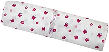 Ireeya Organic Cotton Muslin Receiving Blanket - Pink