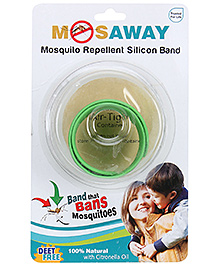 Mosaway Flap Mosquito Band- Green