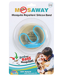 Mosaway Mosquito Band with Light- Blue