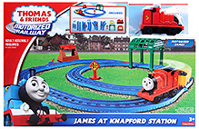 Thomas And Friends - James At Knapford Station