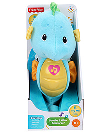 Fisher Price Ocean Wonders Soothe And Glow Seahorse - Blue