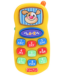 Fisher Price Laugh And Learn Learning Mobile Phone - Yellow