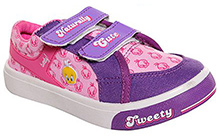 Tweety – Canvas Shoes Lavender