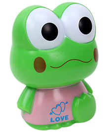 Fab N Funky Money Bank Frog Shape - Green