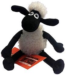 Shaun the Sheep Sitting Plush Toy - 20 cm