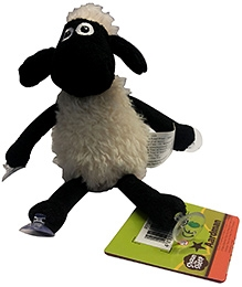 Shaun the Sheep Sitting Plush with 4 Suction Cups Toy - 25 cm