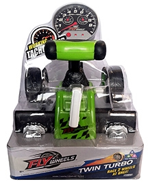 Fly Wheels Twin Turbo - Green