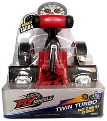 Fly Wheels Twin Turbo - Red