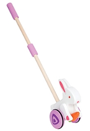 Hape Wooden Bunny Push and Pull Toy