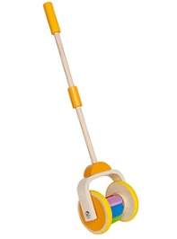 Hape Wooden Rainbow Push and Pull Toy