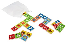 Hape Mix and Match Zoo Animal Dominoes