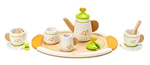 Hape Tea Set with Tray for Two Play Set