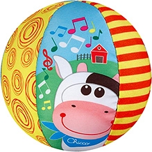 Chicco Musical Soft Ball Toy - 48 cm