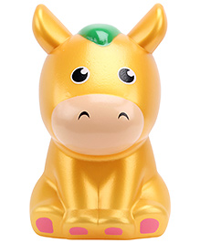 Fab N Funky Money Bank Hippo Shape - Orange
