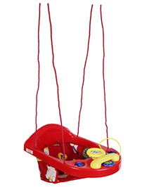 New Natraj Activity Swing - Red and Yellow