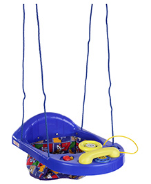 New Natraj Activity Swing - Blue and Yellow