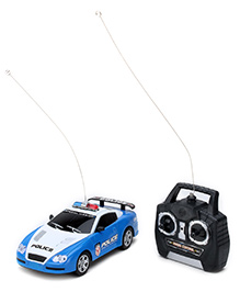 Fab N Funky Remote Control Police Special Car - Blue and White