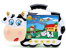 Fab N Funky Cow Shaped Musical Toy- 32 Cards