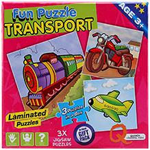 Quixot Fun Puzzles - Transport