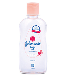 Johnson Baby Oil - 200 Ml - Mildness