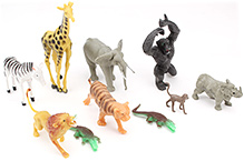 Imperial Animal Playset- 15 Pieces