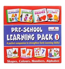 Creatives - Pre-School Learning Pack 1