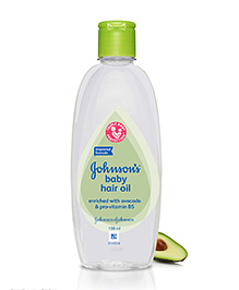 Johnson's Baby Hair Oil - 100 Ml - Mildness