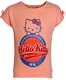 Hello Kitty Short Sleeves T-Shirt Orange