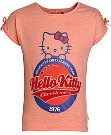 Hello Kitty Short Sleeves T-Shirt Orange