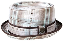 Fore Axel and Hudson Pool Plaid Dobby Hat