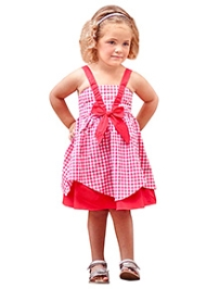 Jelly The Pug Singlet Teaberry Hanky Hem Dress