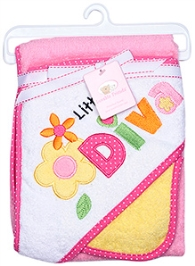 Luvable Friends Flower Styled Blanket and cloth
