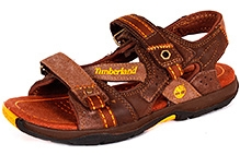 Timberland Earthkeepers Canobie Sandal - Brown and Orange