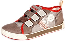 Timberland Earthkeepers Metro Network Sports Shoe - Orange and Brown