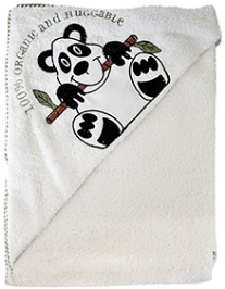 Omved Organic Bamboo Hooded Baby Towel