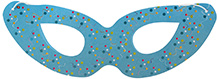 Karmallys Eye Mask Set - Light Blue