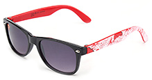 Superman Kids Sunglasses Square Frame - Red and Black