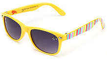 Tom and Jerry Kids Sunglasses Stripe Prints - Yellow