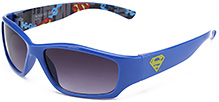 Superman Kids Sunglasses with Superman Print - Blue